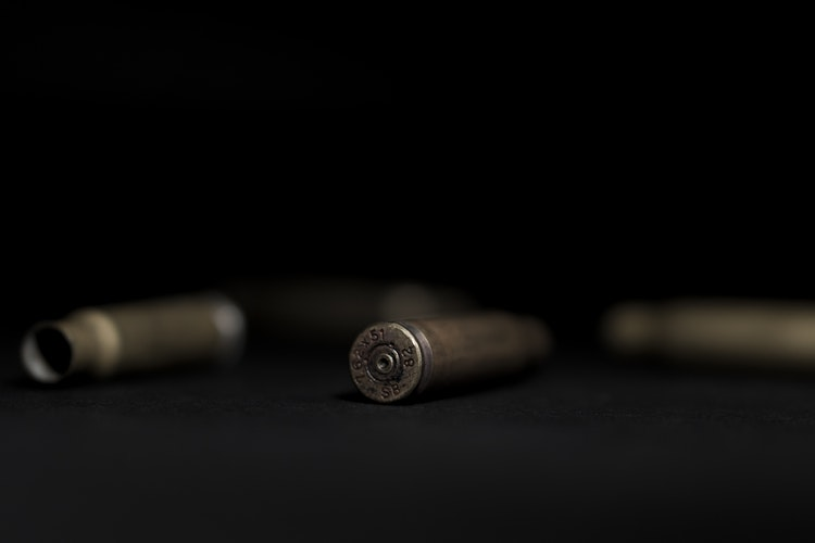 Photo of bullets and bullet shells